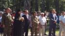 Торжественная  церемония открытия после реконструкции  Аллеи памяти воинам-новомосковцам, погибшим при исполнении воинского и служебного долга